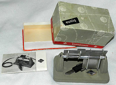 Eumig Film Splicer in original box and instructions
