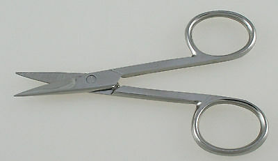"10pcs Nail Scissors 3.5"" Straight Blades Manicure Pedicure Beauty Tools"