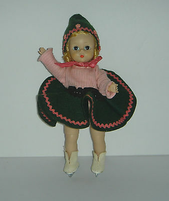 "1950's Alexander Kins 8"" Doll in WENDY SKATE OUTFIT Blonde Hair Dark Eyes"