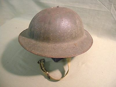 US Army Modified 1930's  Doughboy WWI Brodie Helmet Marked FXS 27 # M1917A1