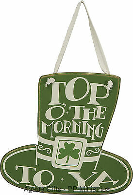 """PBK Saint Patrick Day's - Top O' the Morning to Ya Plaque 6""""x 6"""" #23310"""