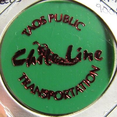 Chile Line Taos, NM Public Transportation Transit Bus Token - New Mexico