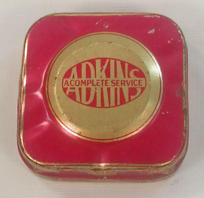 Antique Vintage Adkins Typewriter Ribbon Tin Hardware City, Adkins Printing Co.