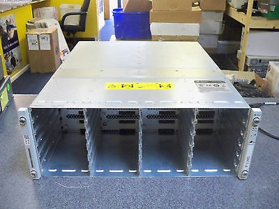 Sun StorEdge J4400 Chassis Storage Array only w/(2) power supplies and modules
