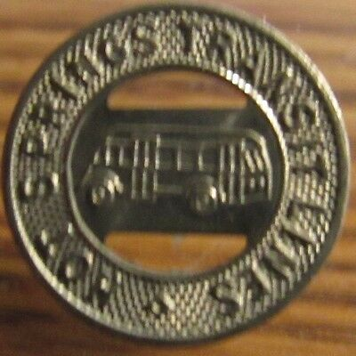 1946 Hot Springs Transit Lines Truth or Consequences, NM Bus Token - New Mexico