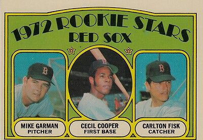 Topps 1972 #79 Carlton Fisk-Rookie Card-Hall of Famer-Boston Red Sox