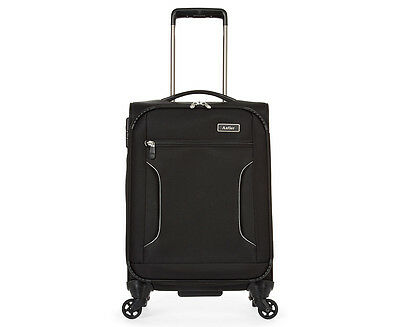 Antler Cyberlite II 4W Softside Cabin Luggage 56cm - Black