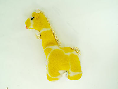 Vintage Eden Plush Giraffe Waggy Muical Wind Up Stuffed Animal Baby Lovey Toy