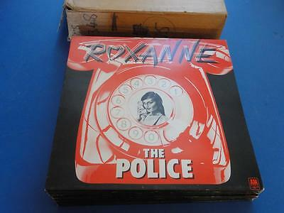 """THE POLICE  ROXANNE A&M 78 A1B1 1st pr 12"""" p/s 45 MINT ARCHIVE NEW OLD STOCK"""
