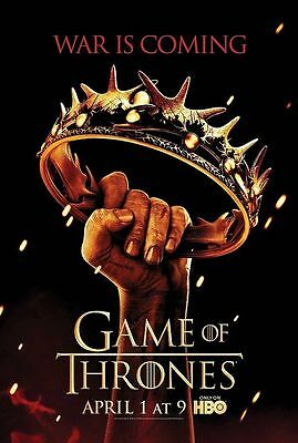 Game of thrones poster A4 size