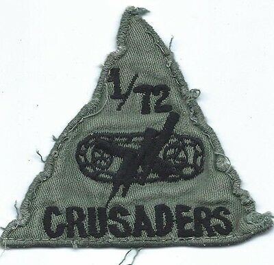 Theatre Made 1/72nd Armor CRUSADERS Pocket Patch