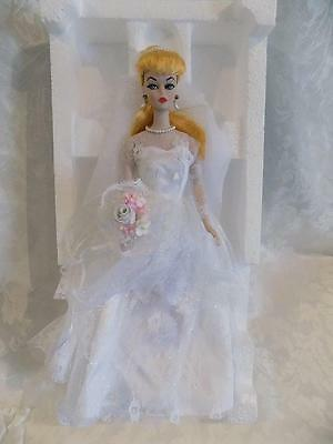 Barbie Porcelain Wedding Party 1959 Limited Edition 1St In A Series Mib