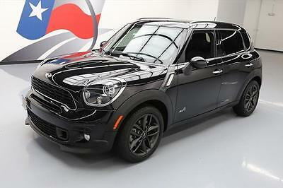 2014 Mini Cooper S ALL4 Hatchback 4-Door 2014 MINI COOPER COUNTRYMAN S ALL4 AWD AUTO LEATHER 19K #P36447 Texas Direct