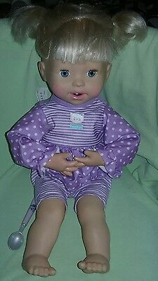 Fisher Price Little Mommy My Very Real Baby Interactive Doll 70 + phrases