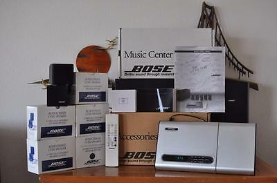 Bose Lifestyle 12 Surround Sound 5.1 System w/ CD Player Remote Manual in Box
