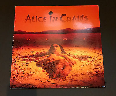 Alice in Chains Dirt Vinyl LP 1992 Original Pressing European Import Rare OOP