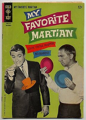 My Favorite Martian 6 VG/FN 5.0 Bill Bixby Photo Cover, 12 cent Gold Key 1965