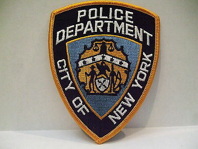 police patch  CITY OF NEW YORK  POLICE NEW YORK OLDER STYLE