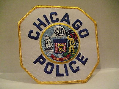 police patch   CHICAGO POLICE ILLINOIS