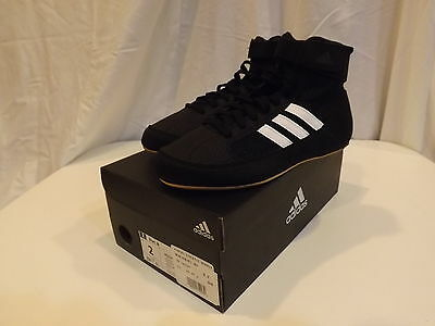 Adidas hvc k Wrestling Shoes Youth Size 2 - NEW a