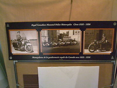 Rcmp  Motorcycle And Car Posters 2  - History Of Rcmp Motorcycles & Vehicles