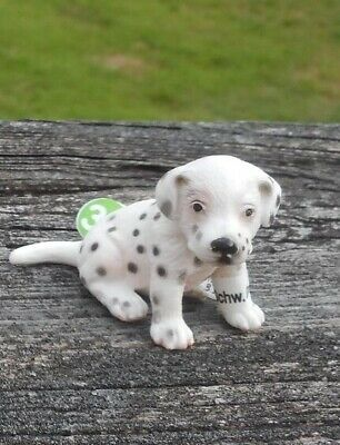 DALMATION AND PUP BY SCHLEICH; toy/dog/ 16319/16348/RETIRED