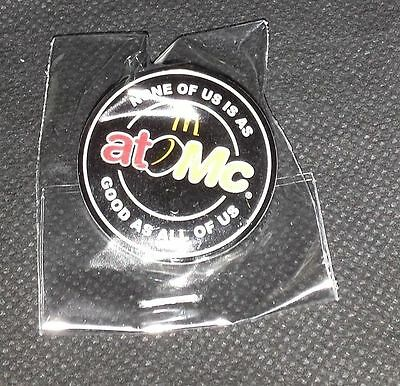 McDonald's Limited Edition Hockey Pin - None of us is as good as all of us