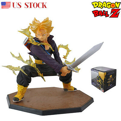 Dragon Ball Z Super Saiyan Trunks Figuarts Toys Figure Figurine Statue DBZ Toy