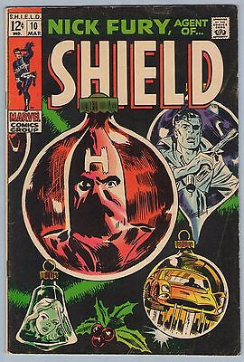 Nick Fury Agent of SHIELD 10 Mar 1969  VG+ (4.5)