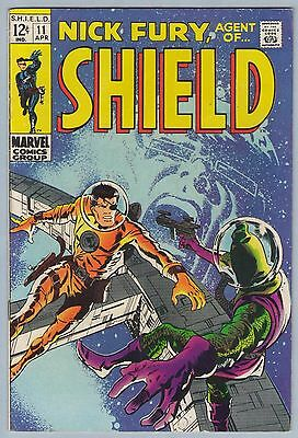 Nick Fury Agent of SHIELD 11 Apr 1969 FI- (5.5)