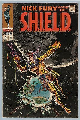 Nick Fury Agent of SHIELD 6 Nov 1968 FI-VF (7.0)