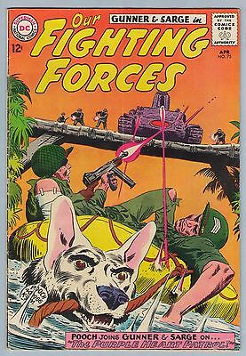 Our Fighting Forces 75 Apr 1953 VG+ (4.5)