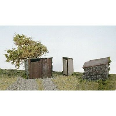 Wills Oo Scenic Series Ss19 Grotty Huts & Privy Wss19