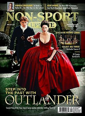 Non-Sport Update June / July 2017 Sealed with OUTLANDER / DC BOMBSHELLS Promos