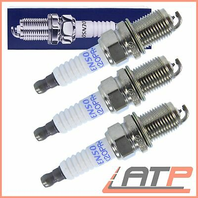 Denso Pk20Pr-P8 Ignition Spark Plug Set 3 Pieces Platinum
