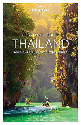 New, Lonely Planet, Thailand With Map