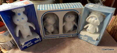 Pillsbury Playthings Poppin Fresh & Poppie Fresh Granmommer & Granpopper 1974
