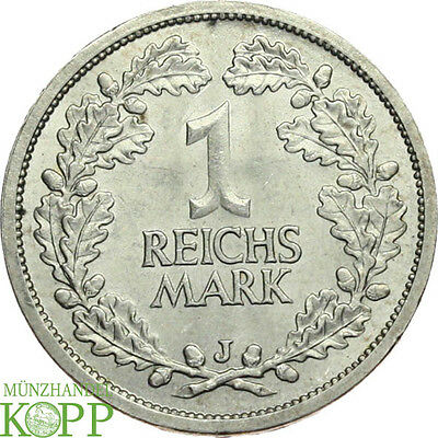 Q73) J.319 WEIMARER REPUBLIK 1 Mark 1927 J