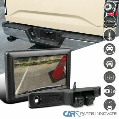 Wireless Car 175° Angle Night Digital Reverse Parking Backup Camera+LCD Monitor