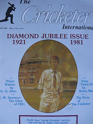 The Cricketer International - May 1981 (Diamond Jubilee Issue)