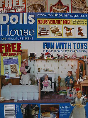 Dolls House And Miniature Scene Magazine Issue 118 - Toys