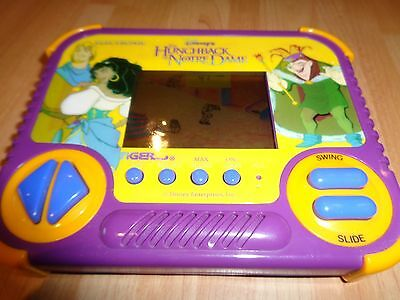 DISNEY the HUNCHBACK of NOTRE DAME TIGER HANDHELD ELECTRONIC GAME 1992 WORKING