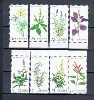 Taiwan  2 Sets Flowers  Mnh
