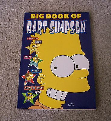 THE BIG BOOK OF BART SIMPSON by MATT GROENING ~ NEW