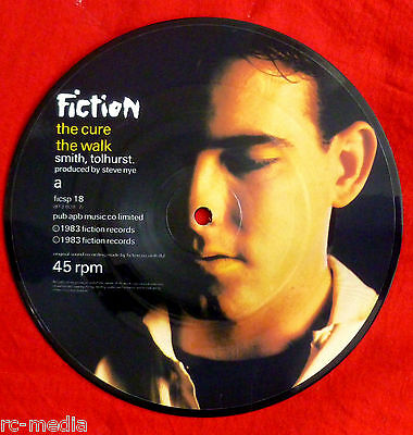 """THE CURE - The Walk - Rare UK 7"""" Picture Disc (Vinyl)"""