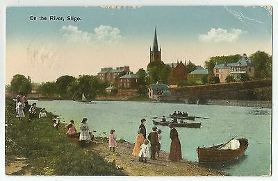 sa irish postcard ireland sligo