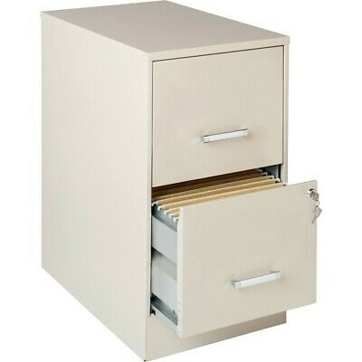 Lorell Lorell SOHO 18' 2-drawer File Cabinets, Putty - LLR14340