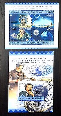 2 Solomon Sheet Perforated With Atom And Einstein