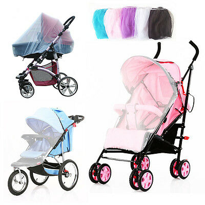 Summer Autumn Mosquito Net Baby Stroller Pushchair Infants Protection Mesh