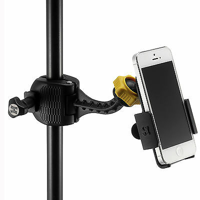 HERCULES DG200B MICROPHONE STAND STAGE HOLDER CLAMP FOR SMARTPHONE iPhone ipod